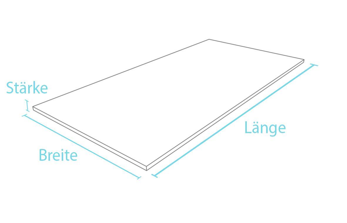 Platte Kunststoffplatte Konstruktionsplatte Wetterfest