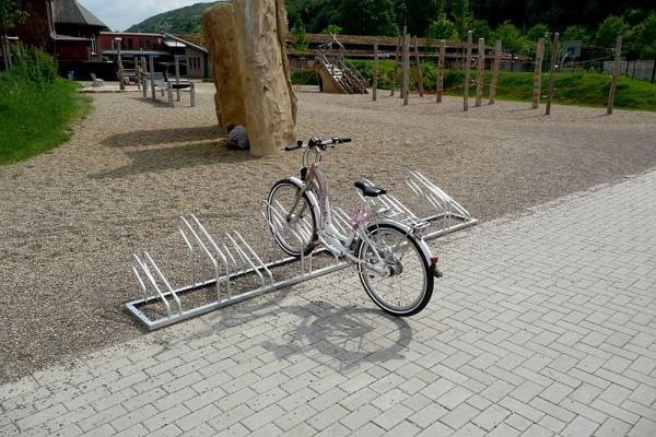 Fahrradständer 3 - 12 Radeinstellungen einseitig oder doppelseitig