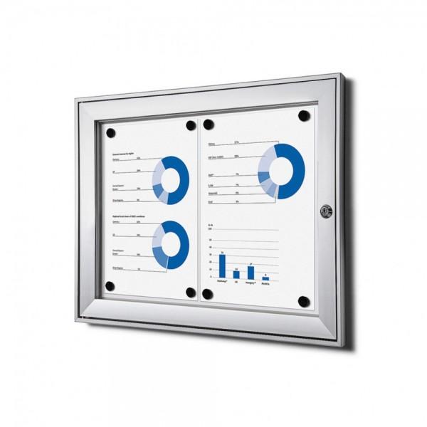 Schaukasten S für Innen / Außen abschließbar magnetische Rückwand