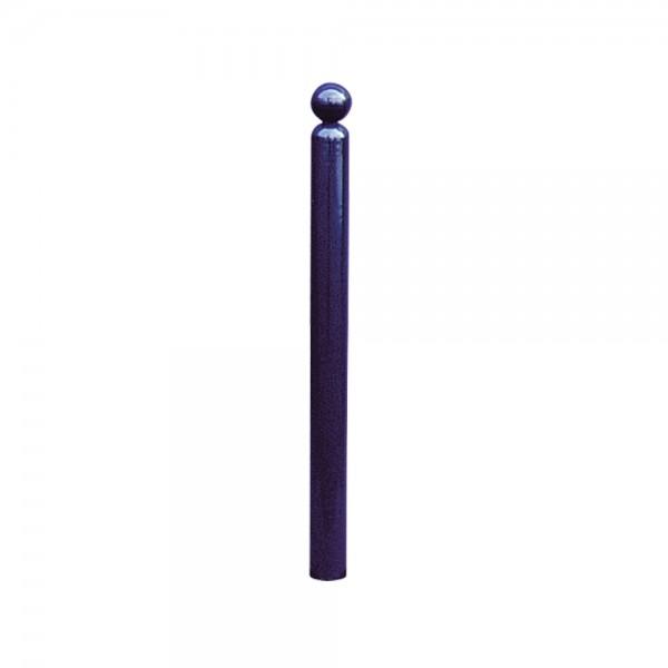 Stilpoller Stilpfosten herausnehmbar mit Dreikant Rundrohr Ø76mm