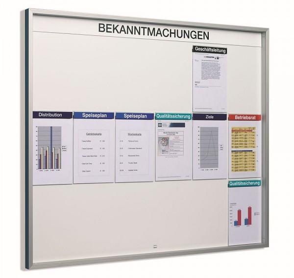 Infotafel Orgastar Standard Organisations - System im Innenbereich