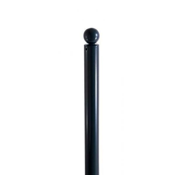 Stilpfosten Ø 76 mm 475B RAL 7016 zum Einbetonieren