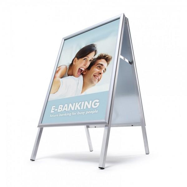 Kundenstopper Standard für Innen Werbeständer Aufsteller A-Ständer