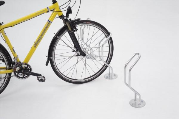 Fahrradständer als Einzelparker Bodenparker f. breite Reifen 3100