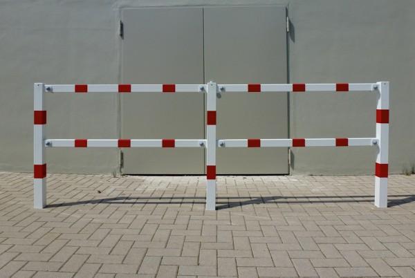 Schutzgeländer Sicherheitsgeländer Geländer zum Einbetonieren