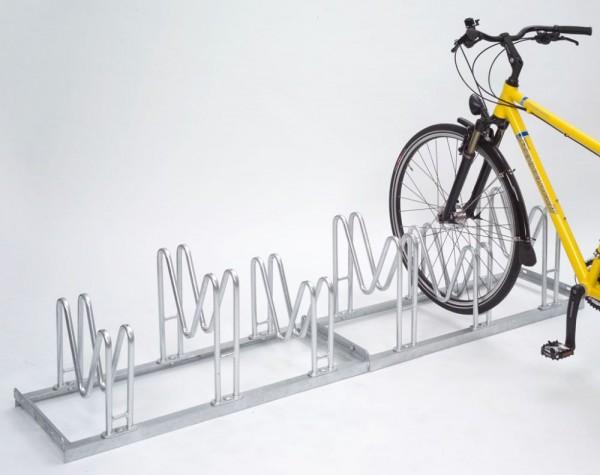 Fahrradständer Multiparker 8000 einseitig 2 - 6 Einstellplätze