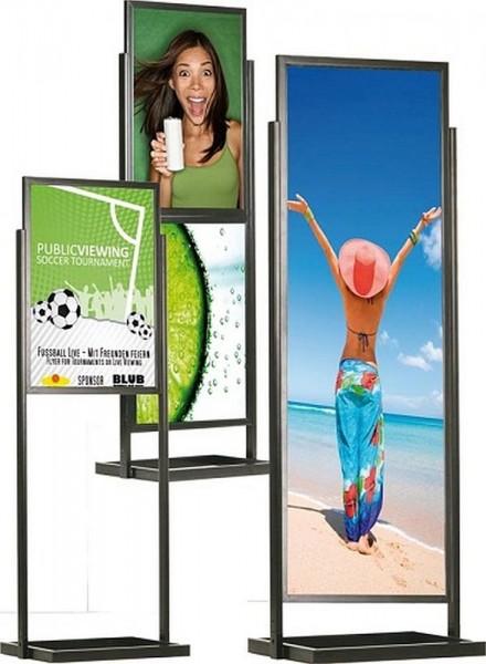 Plakat Ständer Eco ein Infoständer doppelseitig mit Einschubrahmen
