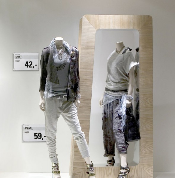Infotasche Plakathalter Posterhalter Flap A4 A5 für Glaswände