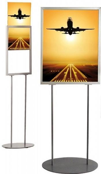 Plakat-Ständer doppelseitig Infoständer für Plakate Werbung Bilder