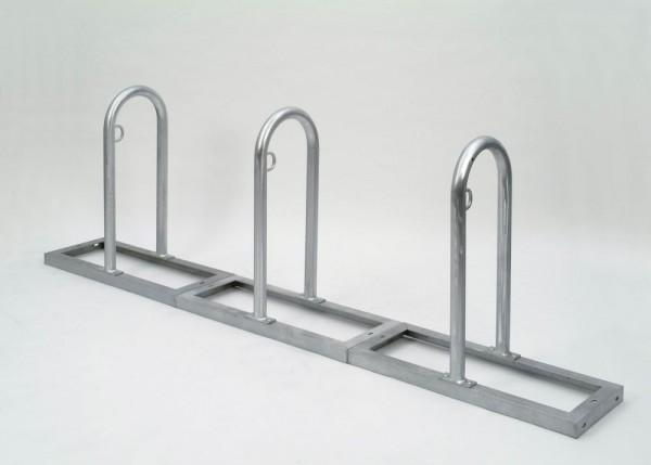 Fahrrad Anlehnsystem Track Fahrradparker mit 2-12 Einstellplätzen