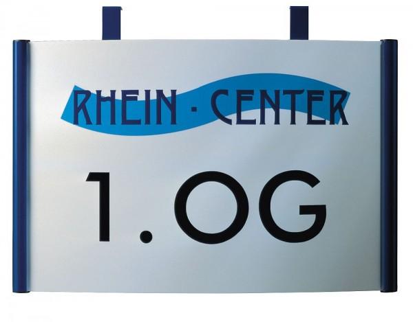 Wegweiser gewölbtes Design UNITEX C Wandmontage Breite 200 - 600mm