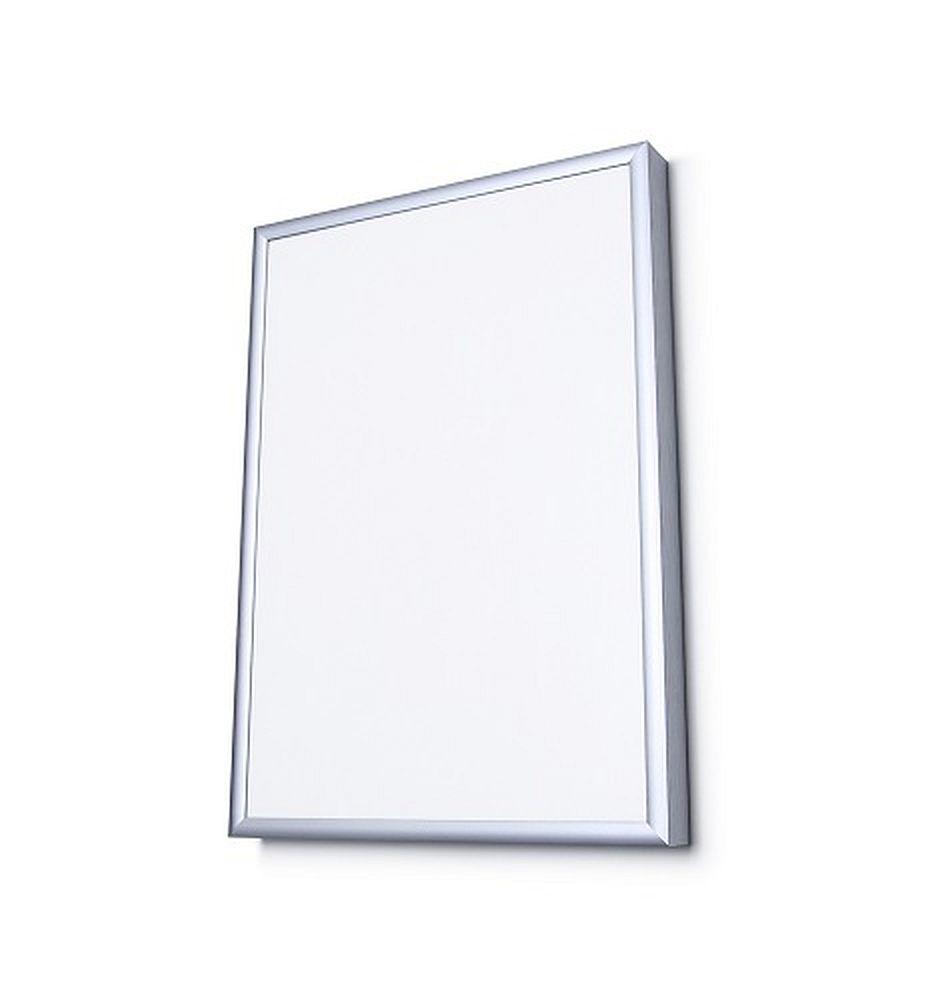 aluminium - bilderrahmen scritto® 9 mm profil für wand   amsdirekt