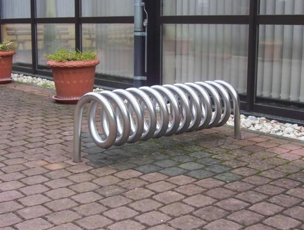 Fahrradständer Omega zum Einbetonieren Ständer spiralförmig