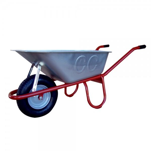 Schubkarre 100 Liter Allcar Profischubkarre Bauschubkarre montiert