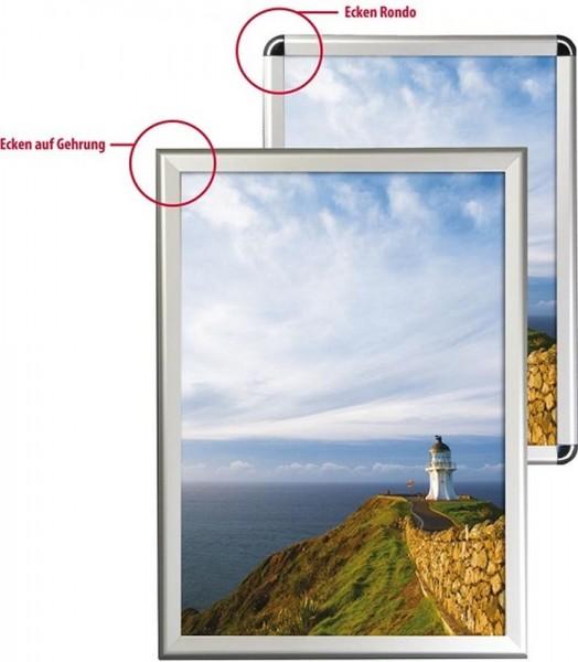 Alu Klapprahmen 32 mm breites Profil Wechselrahmen Plakatrahmen