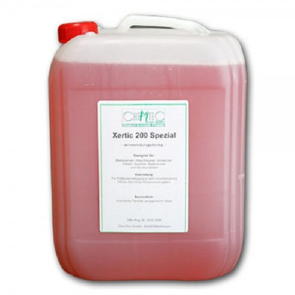 Sanitärreiniger Konzentrat Xertic 200 Spezial biologisch abbaubar