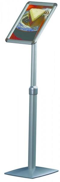 Plakatständer flexibel höhenverstellbar Infoständer mit Alu Rahmen