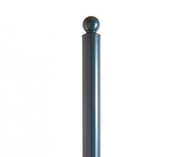 Stilpoller m. Kugel Pfosten herausnehmbar abschließbar Stilpfosten