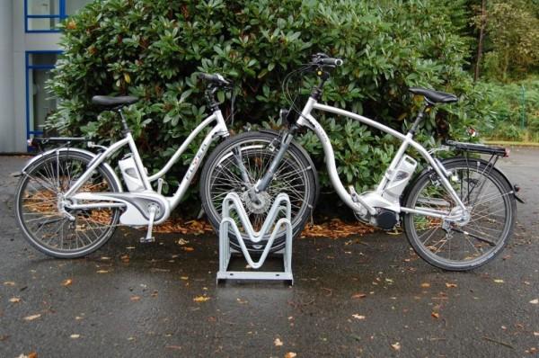 Fahrradständer Multiparker Typ 8000 4-12 Einstellplätze zweiseitig