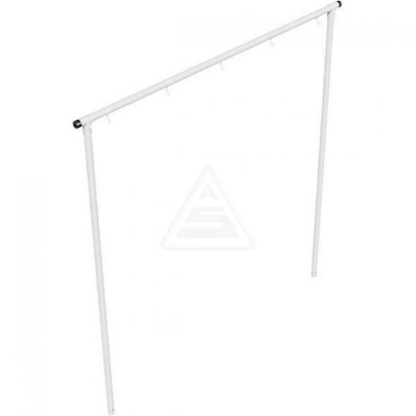Wäschetrockengerüst Ø 60 mm Stahl Wäschegerüst Wäscheständer Außen