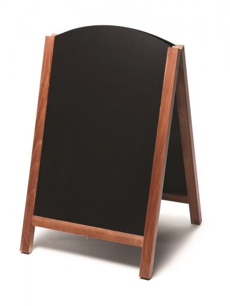 Gehwegaufsteller mit Tafelfläche und doppelseitig beschreibbar