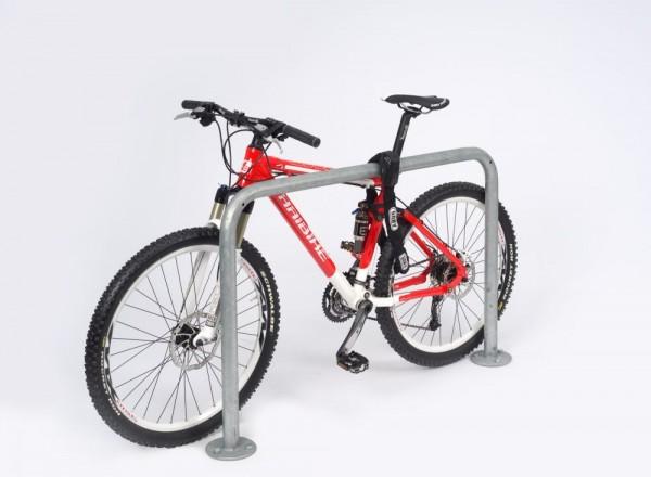 Anlehnbügel für Fahrräder Anlehnparker Fahrradständer Modell 9100