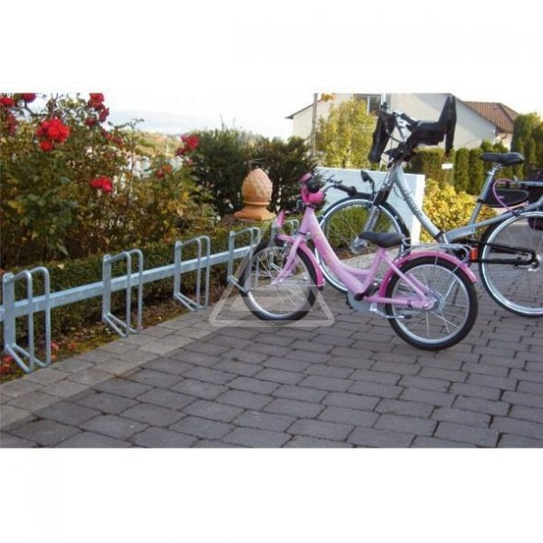 Fahrradständer zum andübeln an Wand Reihenparker für 6 Fahrräder