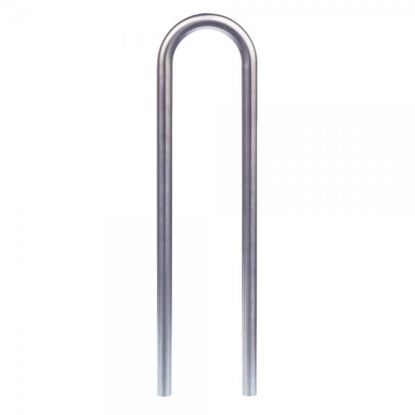 Absperrbügel Edelstahl Ø 48 mm zum einbetonieren Edelstahlbügel