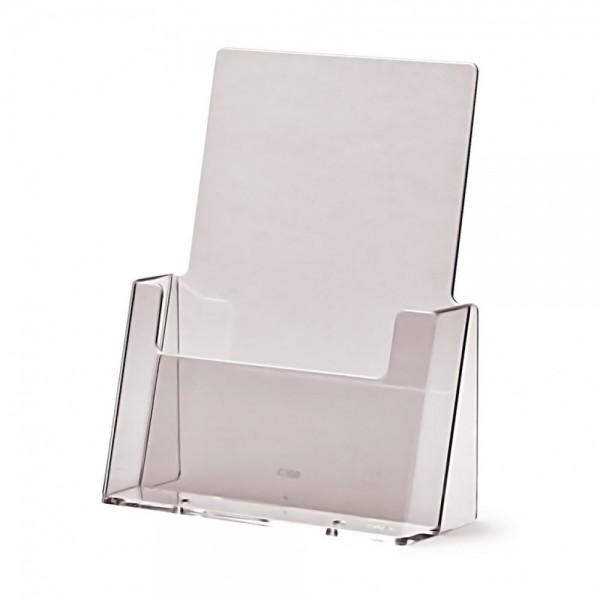 Tischaufsteller für DIN A5 Flyer Prospekthalter Halter Spritzguss