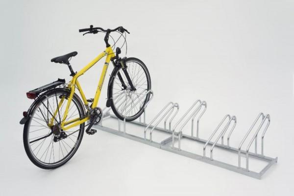 Fahrradständer Bügelparker einseitig Typ 2000 bis 6 Einstellplätze
