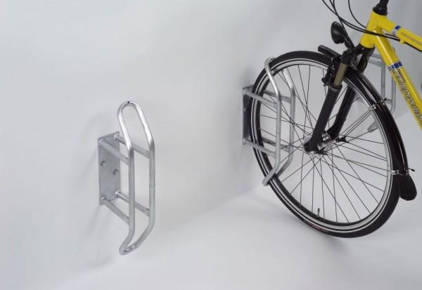 Fahrradständer Wandparker 3400 ein Einzelparker für breite Reifen