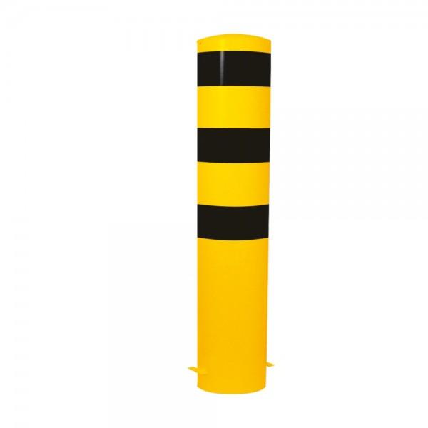 Stahlrohrpoller Ø273mm einbetonieren Werkschutz Poller Stahlpoller
