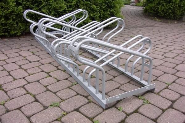 Fahrradständer zweiseitig Bügelparker 1000 6 - 20 Einstellplätze