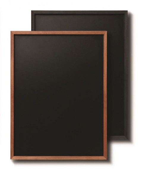 Wandtafel mit Buchenholz Rahmen + Kreidetafel verschiedene Formate