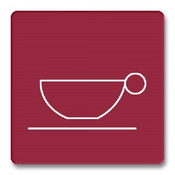 Piktogramm Cafeteria Türschild Acryl internationales Bildzeichen