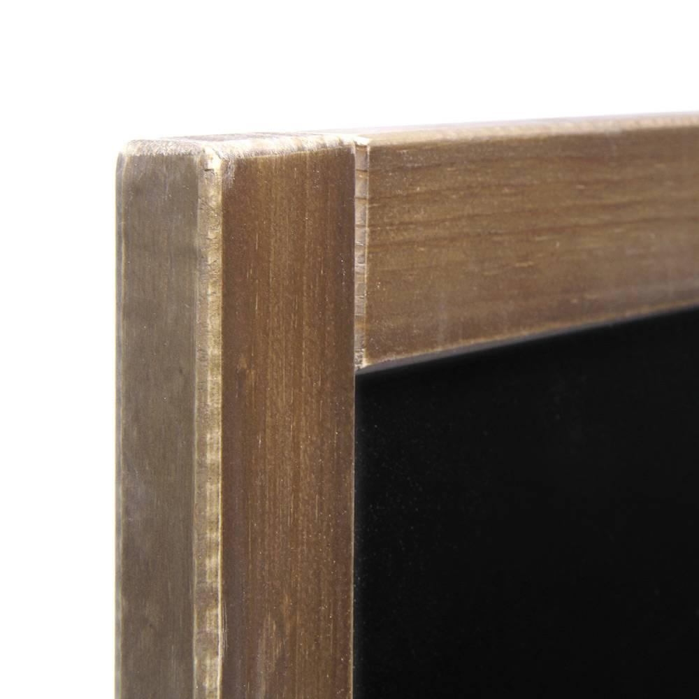kreidetafel vintage look gebeiztes holz mit schutzlack | amsdirekt