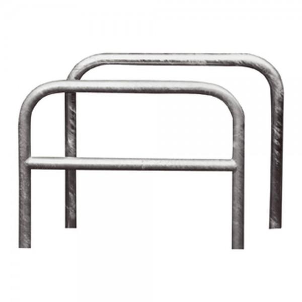 Fahrrad Anlehnparker Anlehnbügel Ø48mm ohne Querholm zum Aufdübeln
