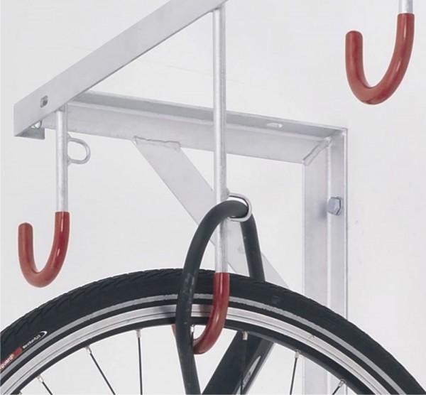 Fahrrad Reihen - Hängeparker 3800 für 2-8 Fahrräder Keller Garage