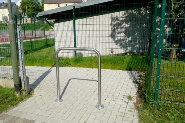 Abweisebügel Fahrradständer Anlehnbügel Edelstahl zum Aufdübeln
