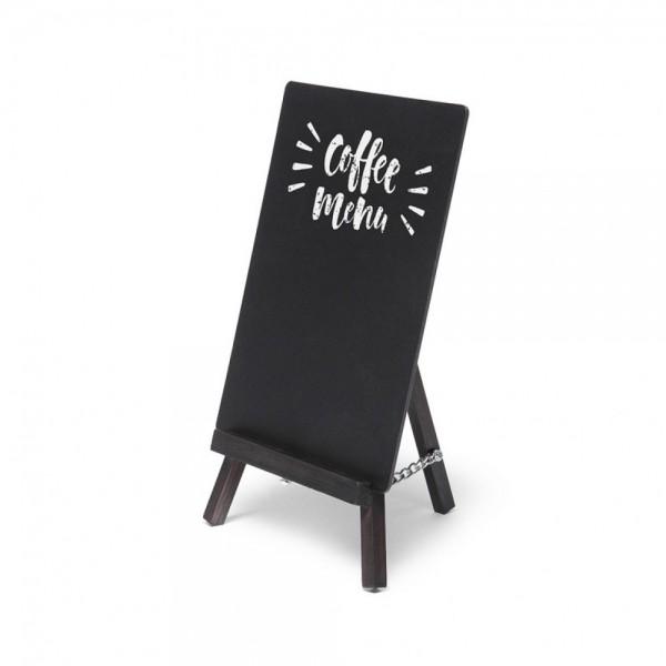 Tischaufsteller Mini Staffelei Holz 3 Farben beschreibbare Tafel