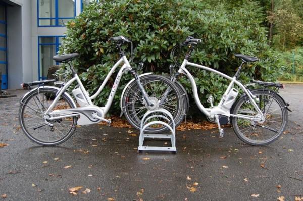 Fahrradständer Bogenparker 5000 zweiseitig 4 - 12 Einstellplätze