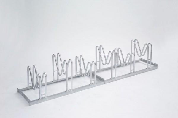 Fahrradständer Multiparker einseitig Typ 8000 2 - 6 Einstellplätze