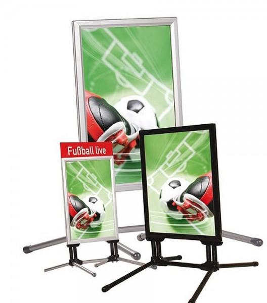 Kundenstopper SwingPro® doppelseitig Gehwegaufsteller wasserfest