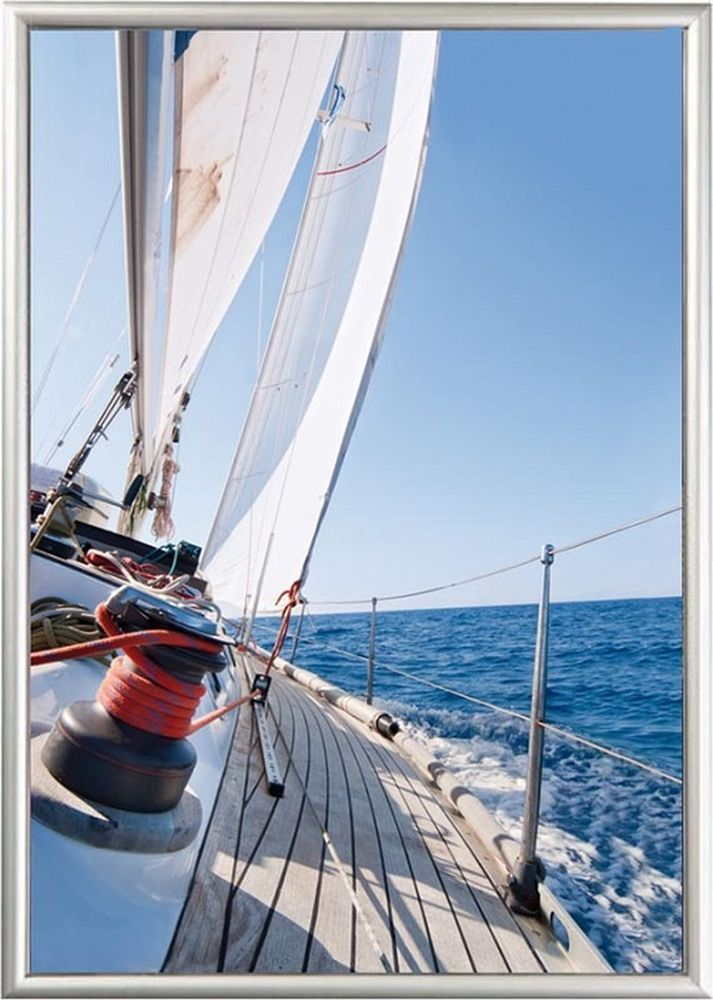 Alu Klapprahmen 15mm Profil Bilderrahmen Plakat Rahmen   AMSDirekt