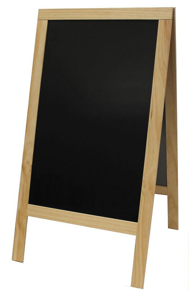 Werbeaufsteller Doppelseitiger Aufsteller Holz Tafel Amsdirekt