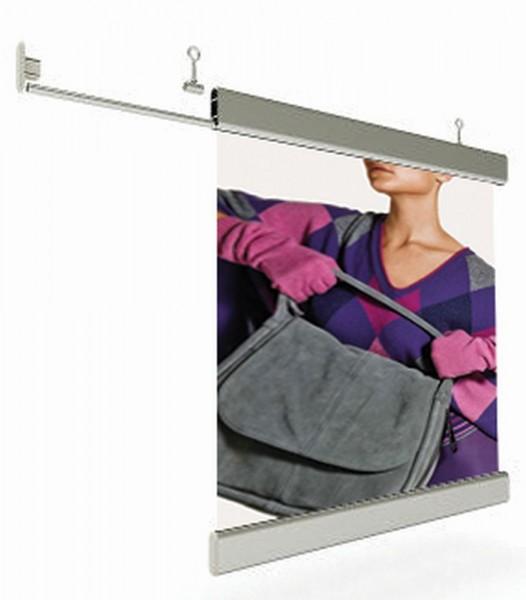 Banner Abhänge - Set flaches gerades Kederprofil für Textildrucke