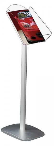 Prospektständer Dekorativ Boden Ständer Aufsteller mit A4 Ablagen