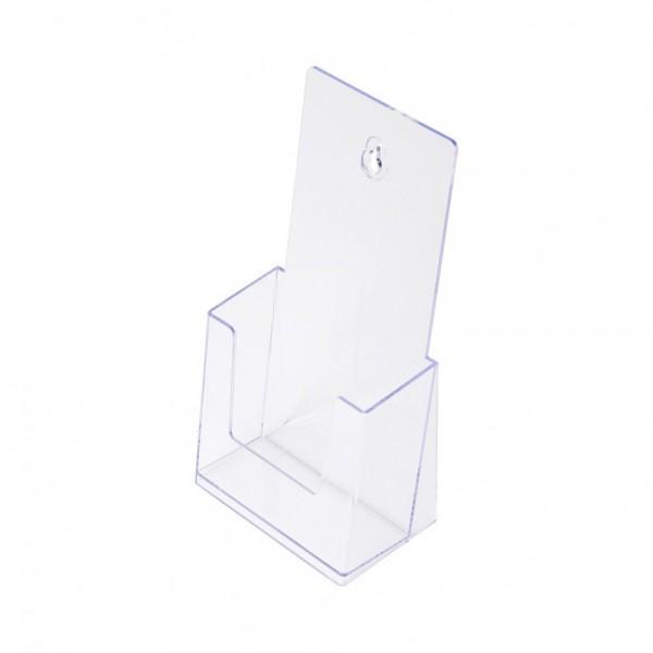 Prospekthalter SCRITTO® 1/3 A4 Halter Prospekte Tisch Theke Wand