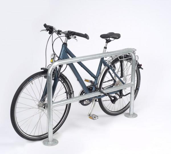 Anlehnbügel mit Knierohr Anlehnparker Fahrradständer Modell 9200