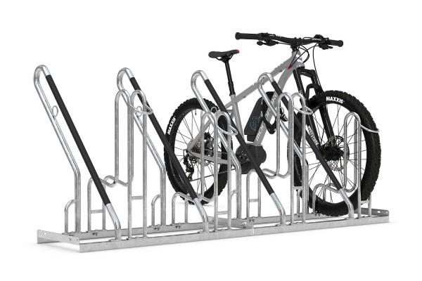 Fahrradständer 4700 XBF speziell für breite Reifen und Lenker